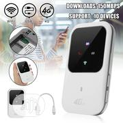 Portable 4G LTE WIFI Router Mobile Broadband Hotspot Modem | Networking Products for sale in Lagos State, Ikeja