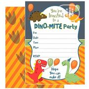 25 Pack Dino Mite Party Invitation Cards | Stationery for sale in Lagos State, Surulere