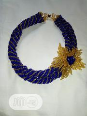 Blue and Gold Spiral Bead | Jewelry for sale in Lagos State, Agege