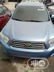 Toyota Highlander 2008 Limited 4x4 Blue | Cars for sale in Lagos State, Isolo