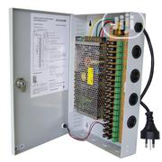 12V 10 AMP 18 Channel Central Power Supply For CCTV | Accessories & Supplies for Electronics for sale in Lagos State, Ikeja