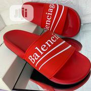 Balenciaga Pam Slide Available in Red Color Order Yours Now | Shoes for sale in Lagos State, Lagos Island