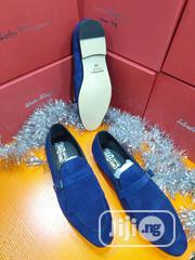 Original Ferragamo Men's Quality Suede Leather Single Strap Shoes | Shoes for sale in Lagos State, Lagos Island