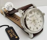 Quality Mont Blanc Leather Time Piece | Watches for sale in Lagos State, Magodo