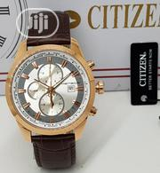 Citizen Watch Quality Leather Strap | Watches for sale in Lagos State, Magodo