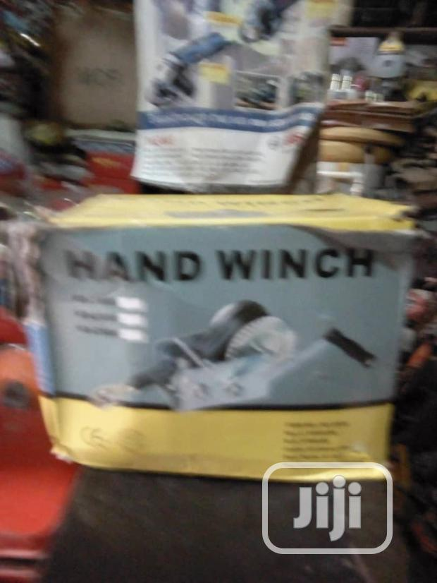 Original Hand Winch For Pulling Depends The Size