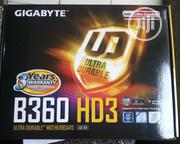 Gigabyte B360 HD3 Ultra Durable Motherboard | Computer Hardware for sale in Lagos State, Ikeja
