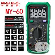 Mastech MY60 Digital Multimeter Current Resitance Meter Tester | Measuring & Layout Tools for sale in Lagos State, Ikeja