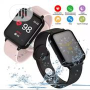Smartwatch Fitness Tracker Heart Rate Blood Pressure Monitor B57 | Smart Watches & Trackers for sale in Ogun State, Ijebu Ode