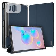 Samsung Galaxy Tab S6 10.5 Leather Case - Blue   Accessories for Mobile Phones & Tablets for sale in Lagos State, Ikeja