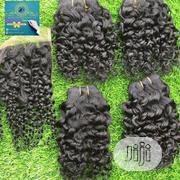 14' Inch Pixie Curls With Closure | Hair Beauty for sale in Lagos State, Lagos Mainland