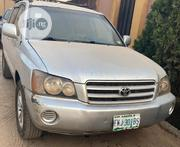 Toyota Highlander 2004 Limited V6 4x4 Silver   Cars for sale in Lagos State, Lagos Mainland