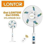 18 Inches Rechargeable Fan With Remote Lontor | Home Appliances for sale in Lagos State, Lagos Island