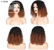 Black Light Brown Soft Curly Short Wig | Hair Beauty for sale in Lagos State, Ikoyi