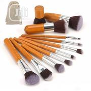 11pcs Bamboo Brushset | Makeup for sale in Lagos State, Ojo