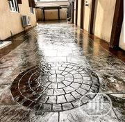 Concrete Stamped Flooring | Building & Trades Services for sale in Lagos State, Magodo
