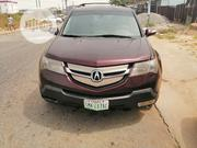 Acura MDX 2008 SUV 4dr AWD (3.7 6cyl 5A) Red   Cars for sale in Rivers State, Obio-Akpor