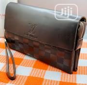 Louis Vuitton (LV) Leather Clutch Bag for Men's   Bags for sale in Lagos State, Lagos Island
