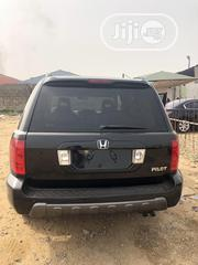 Honda Pilot 2004 EX-L 4x4 (3.5L 6cyl 5A) Black | Cars for sale in Lagos State, Ojodu