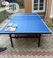 Standard Quality Outdoor Table Tennis Board With Bats and Balls | Sports Equipment for sale in Abuja (FCT) State, Central Business District