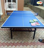 High Quality Table Tennis Board (Waterproof) With Bats and Balls | Sports Equipment for sale in Lagos State, Ikorodu