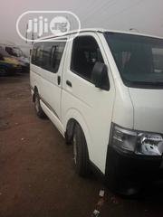 Neatly Used Toyota Hiace 2009 White | Buses & Microbuses for sale in Lagos State, Lagos Mainland