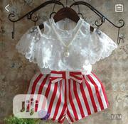 Lovely Two-Piece Dress for Kids   Children's Clothing for sale in Lagos State, Ikeja