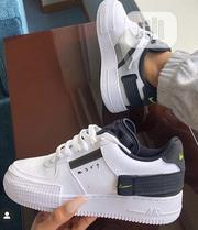 Nike Airforce One Type in White Men'S Sneakers | Shoes for sale in Lagos State, Ikeja