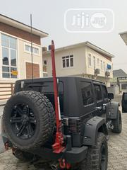 Jeep Wrangler 2009 3.8 Rubicon Gray | Cars for sale in Lagos State, Lekki Phase 1