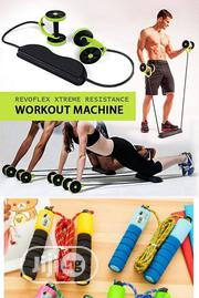 Revoflex Abdominal Wheel And Skipping Rope   Sports Equipment for sale in Lagos State, Lagos Mainland
