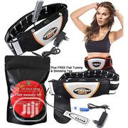 Vibro Shape Slimming Belt With Free Flat Tummy Tea | Sports Equipment for sale in Lagos State, Lagos Island