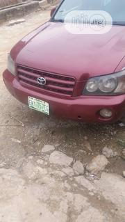 Toyota Highlander 2002 Red | Cars for sale in Lagos State, Kosofe