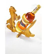 The Bamboo Craft Company Foldable Horse Wine Holder | Kitchen & Dining for sale in Rivers State, Port-Harcourt