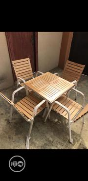 Modern Patio Outdoor Garden Furniture Dining Table and Chair Set | Furniture for sale in Lagos State, Amuwo-Odofin