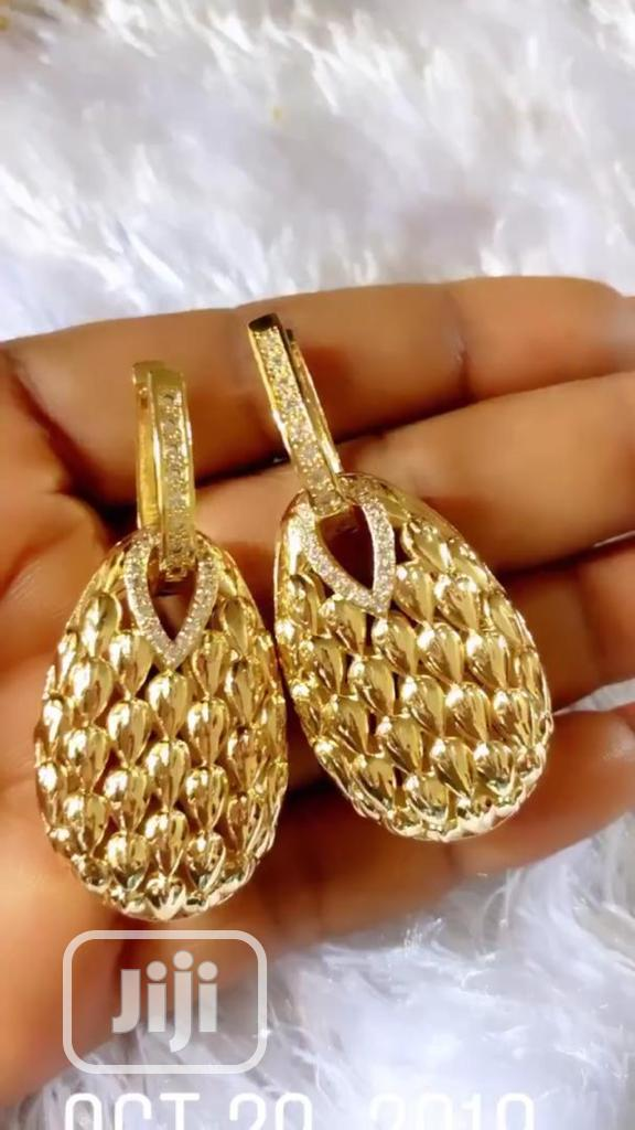 Gold Plated Earring Copy