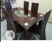 6-Seater Glass Marble Dinning Set. | Furniture for sale in Lagos State, Yaba