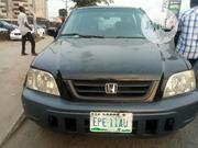 Honda CR-V 2001 2.0 4WD Automatic Black | Cars for sale in Rivers State, Port-Harcourt