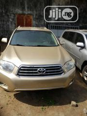 Toyota Highlander Limited 2008 Gold | Cars for sale in Lagos State, Isolo