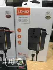 Ldnio Fast Travel Charger Adapter | Accessories for Mobile Phones & Tablets for sale in Lagos State, Ikeja