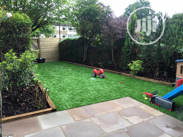 Artificial Grass For Kiddies Playing Ground Turf