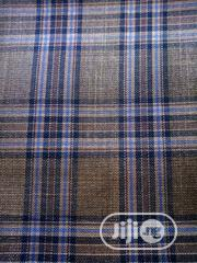 Brown Check Cashmere Fabric | Clothing for sale in Lagos State, Lagos Mainland