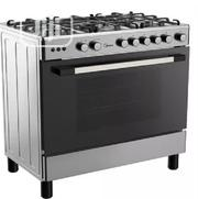 Midea 5 Gas Burners Gas Cooker( 90 X 60 ) 36LMG5G028- Silver   Restaurant & Catering Equipment for sale in Abuja (FCT) State, Central Business District