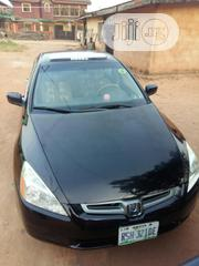 Honda Accord 2004 Automatic Black | Cars for sale in Edo State, Egor
