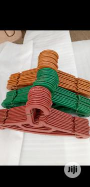 Plastic Clothes Hangers(10) A Bundle | Clothing Accessories for sale in Lagos State, Lagos Island