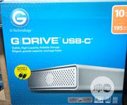 G-technology 10TB G-drive USB-C (USB 3.1 Gen 1) Desktop External HDD | Computer Hardware for sale in Lagos State, Ikeja