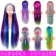 Braiding Hair Head Model Cool Colours Wig | Hair Beauty for sale in Lagos State, Lagos Island