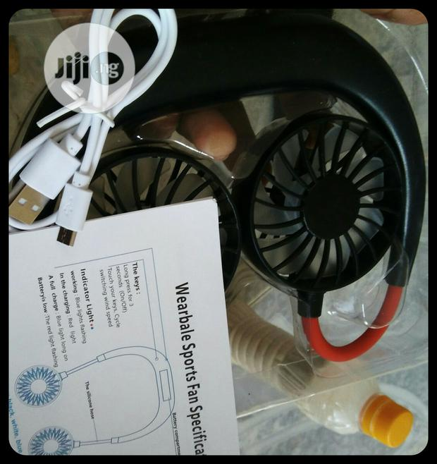 Neck Rechargeable Fan Available