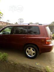 Toyota Highlander 2004 Limited V6 4x4 Red | Cars for sale in Lagos State, Isolo