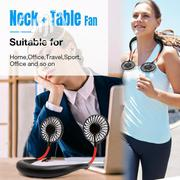 Hands Free Portable Neck Fan - Rechargeable Mini USB Personal Fan | Home Accessories for sale in Lagos State, Lagos Island