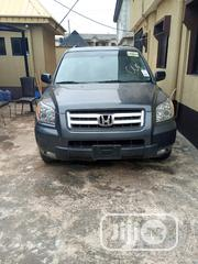 Honda Pilot 2006 EX-L 4x4 (3.5L 6cyl 5A) Blue | Cars for sale in Lagos State, Alimosho